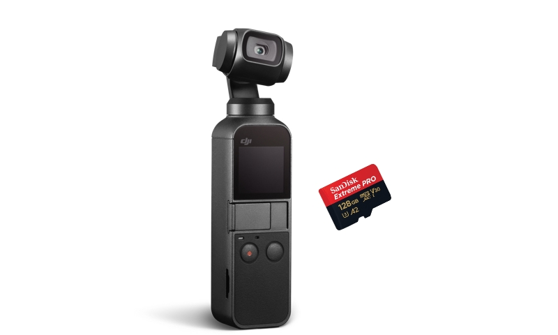best micro sd memory cards osmo pocket