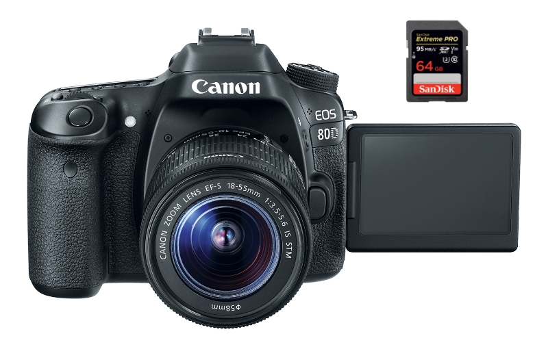 best sd memory cards canon 80d