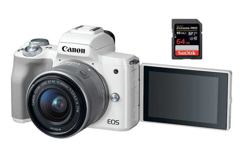 best sd memory cards canon m50