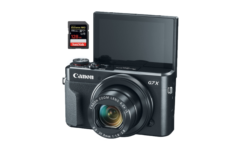 best sd memory cards canon g7x