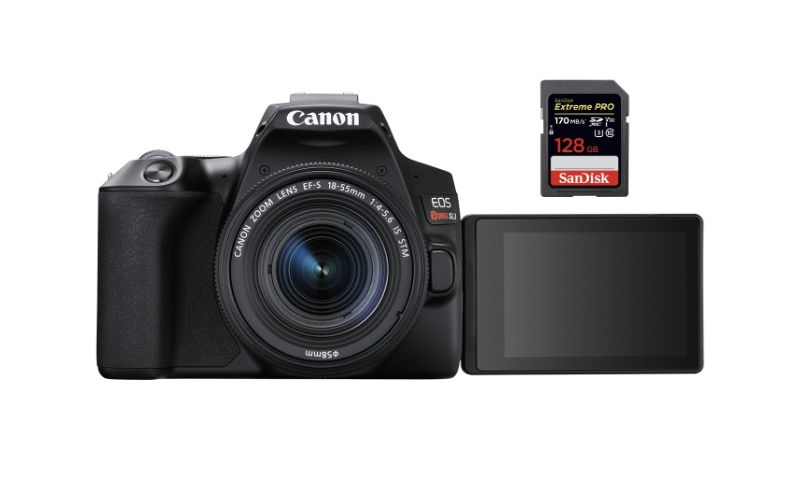 best sd memory cards canon sl3