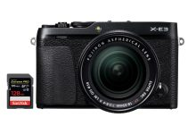 best sd memory cards fujifilm xe3