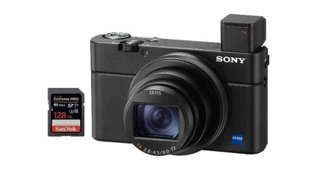 best sd memory cards sony rx100 vii