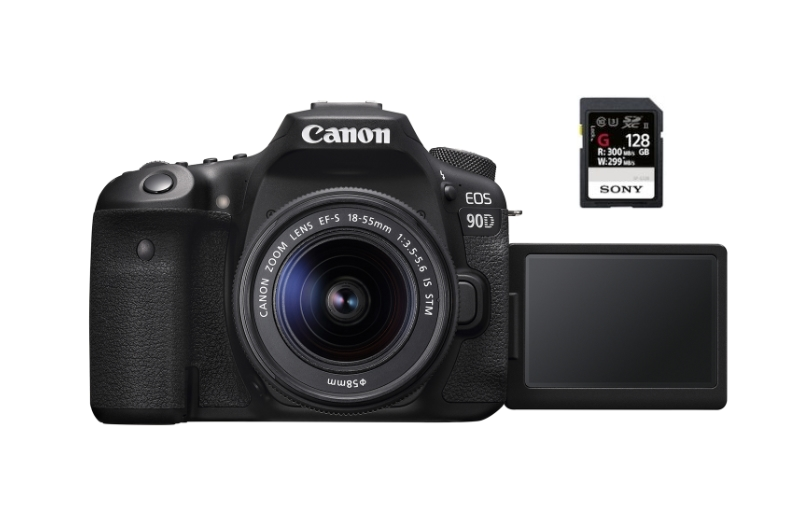 best sd memory cards canon 90d