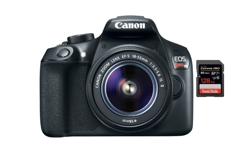 best sd memory cards canon t6