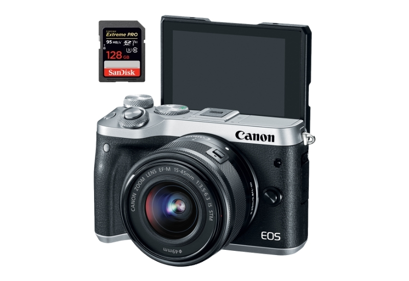 best sd memory cards canon m6