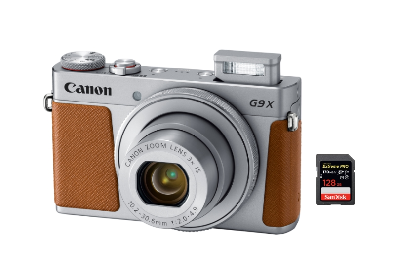 Canon PowerShot G9X Digital Camera Memory Card 128GB Secure Digital Class 10 Extreme Capacity SDXC Memory Card