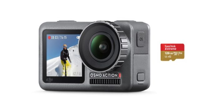 best micro sd memory cards dji osmo action