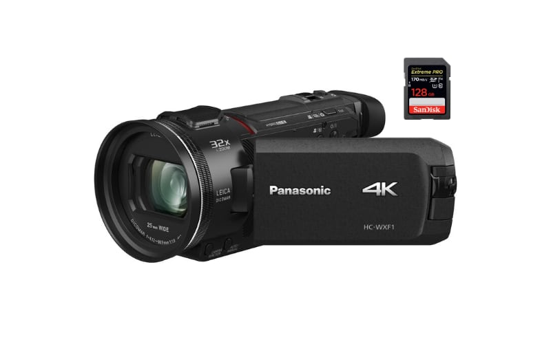 best sd memory cards panasonic hc-wxf1