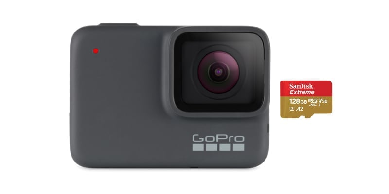 best micro sd memory cards gopro 7 silver