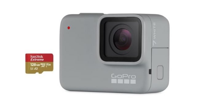 best sd memory cards gopro hero 7 white